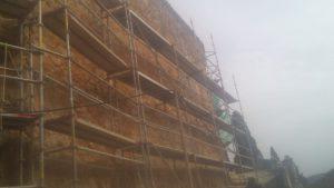 Rehabilitación muralla castillo Brihuega