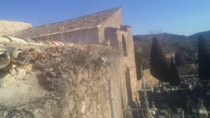 Muralla castillo Brihuega
